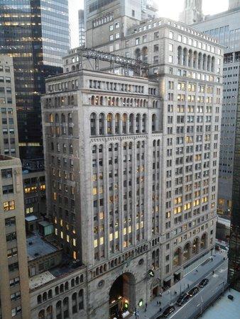 Grand Hyatt New York: View from my room