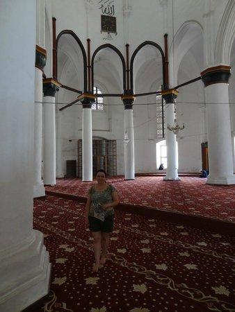 Inside Selimiye Mosque