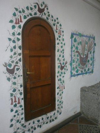La Chascona (Haus von Pablo Neruda): Patio La Chascona