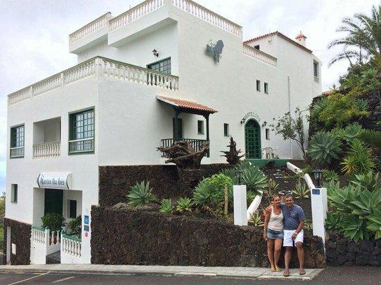 Hotel Ida Inés: En el hotel Ida-Ines.El Hierro