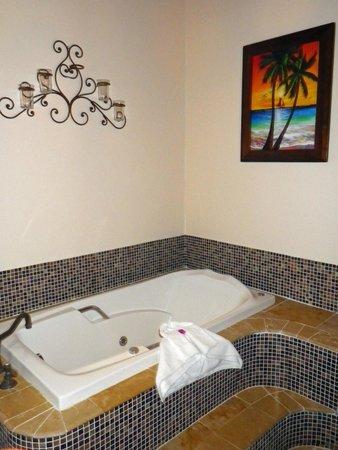 Almond Beach Resort & Spa : Penthouse bathroom