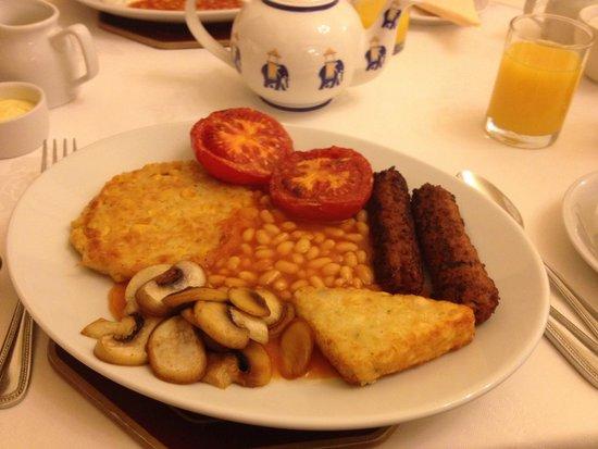 Lee House: Vegan breakfast