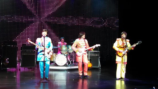 B - A Tribute to The Beatles: BEATLES AT SAXE THEATER