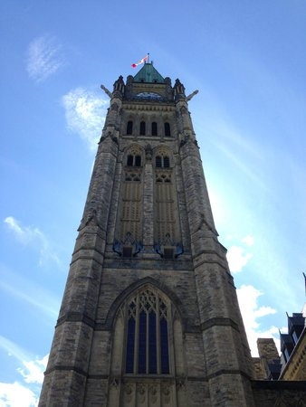 Parliament Hill and Buildings: peace tower