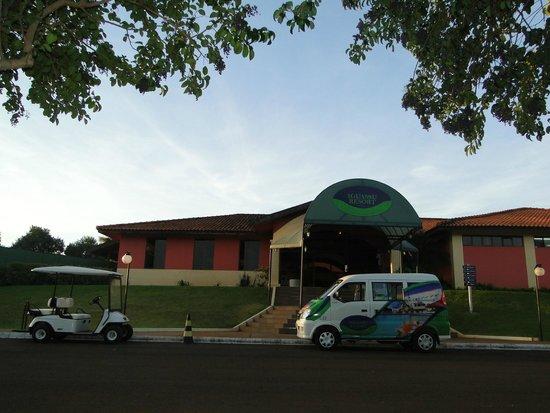 Wish Resort Foz do Iguacu: entrada do hotel