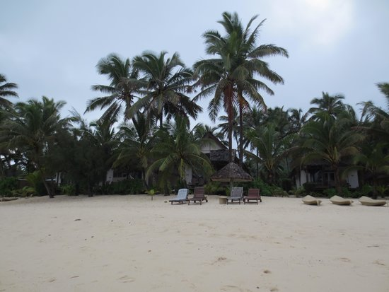 Little Polynesian Resort: View from the beach