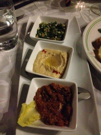 Al Fassia Aguedal : entree vegetarienne