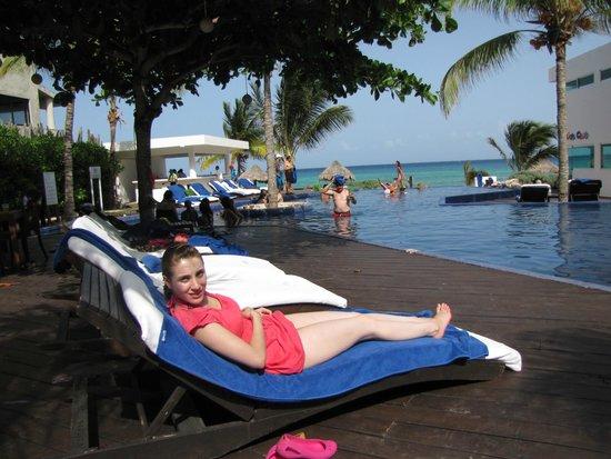 Le Reve Hotel & Spa: get a tan