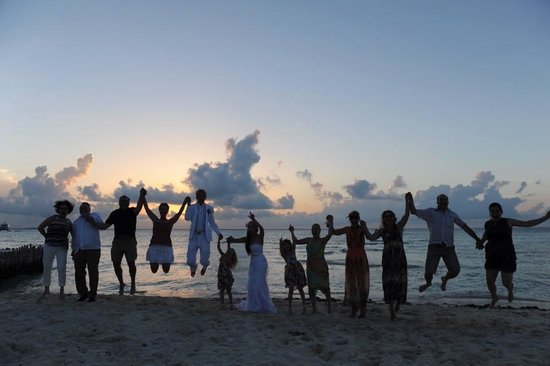Na Balam Beach Hotel: Wedding Sunset