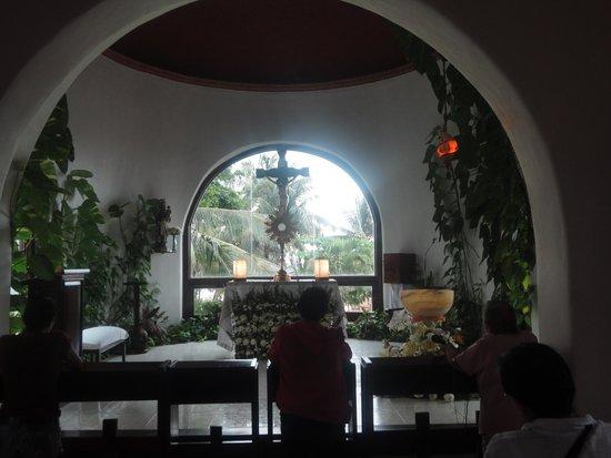 Quinta Avenida: Hay una capilla donde se puede hacer un momento de recogimiento...