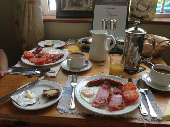 Oakfield Bed and Breakfast: Breakfast