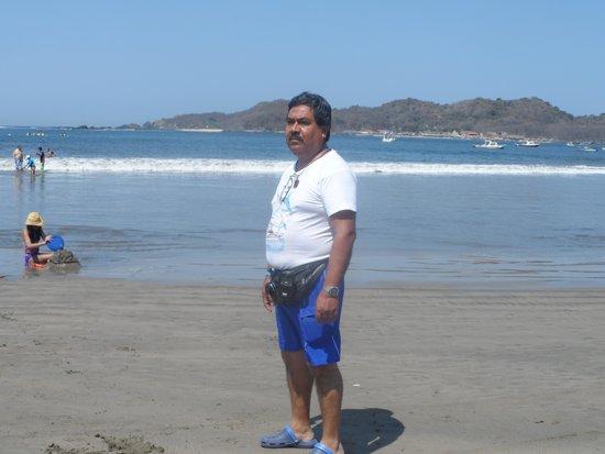 Playa Linda : AL FONDO, LA ISLA