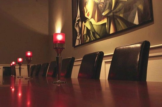 Bistro 1888 : The Opus Room -- The Premier Private Dining Room!