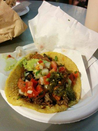 Los Tacos No. 1: Beef tacco