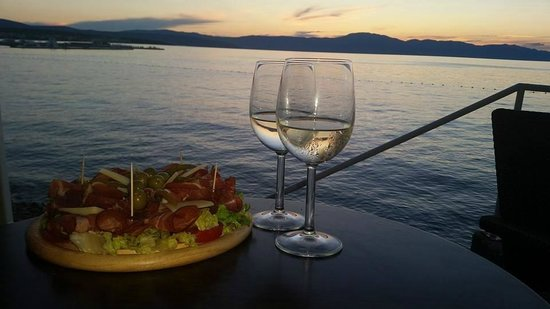 Restaurant Del Mar: wiew del mar restaurant