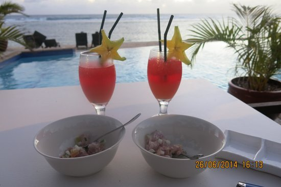 Manuia Beach Resort: Yummy!