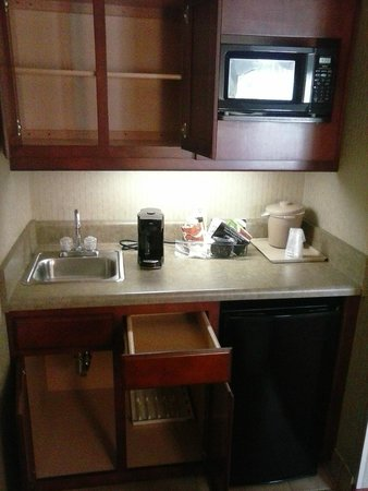 Comfort Suites Charlotte Northlake: A Kitchen With Nothing To Cook/Eat With?