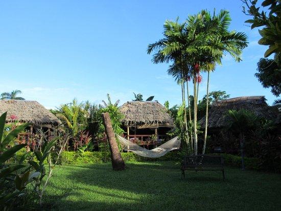 Samoan Outrigger Hotel: Falas and hammock