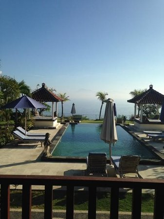 Uluwatu Cottages : view from their restaurant