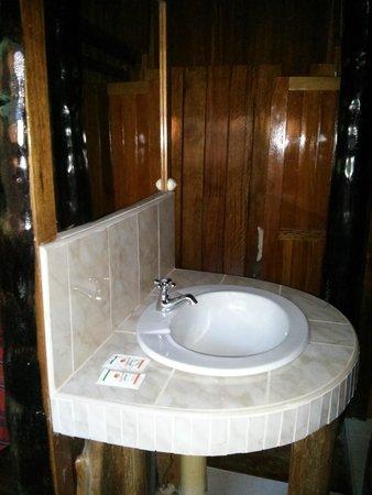 Ecoamaziona Lodge: sink