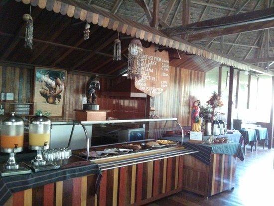 Ecoamaziona Lodge: Dining area