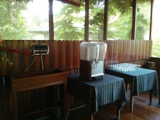 Ecoamaziona Lodge: Water filter