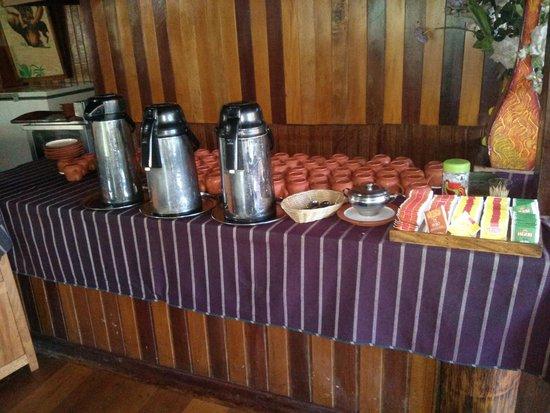 Ecoamaziona Lodge: Breakfast Spread