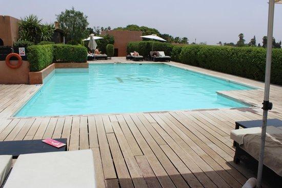 Les Jardins de La Koutoubia : piscine de la terrasse (3ème étage)
