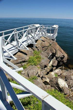 Roosevelt Campobello International Park : Liberty Point Observation Deck