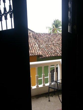 La Gran Francia Hotel y Restaurante: View through the doors to my balcony