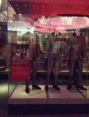 Museum of Liverpool: Part of Beatles section