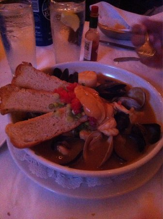 Hank's Seafood Restaurant : I can only post one picture....  Oh. My. GOD!!  We've been eating our way through Charleston in