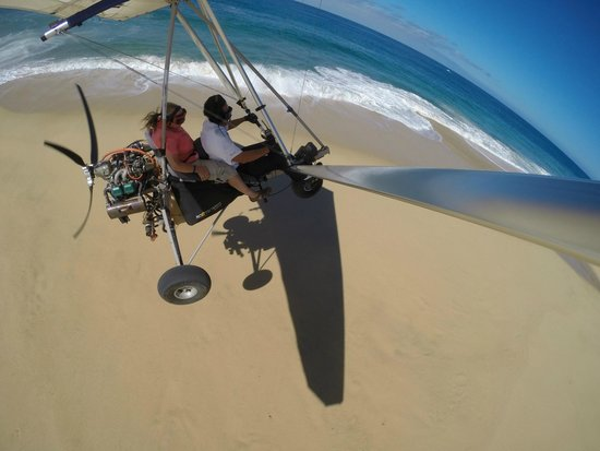 Cabo Sky Tours: The dunes - Ernesto made this portion a thrill ride!