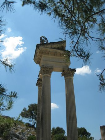 Site archéologique de Glanum : The twin temples