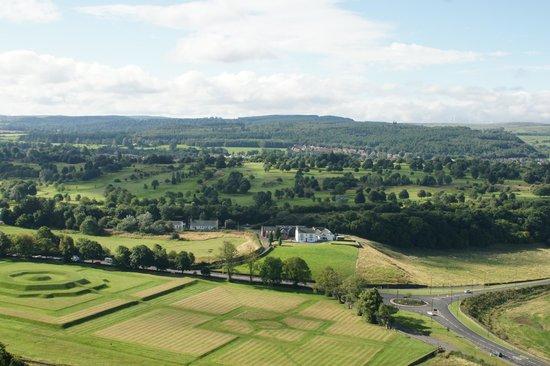 Stirling Castle: Vista a partir do castelo
