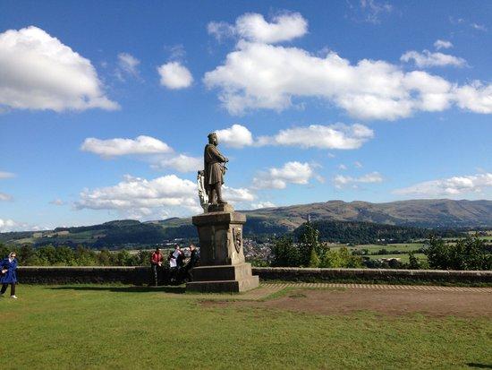 Stirling Castle: Dentro do castelo