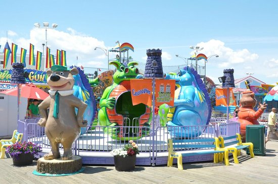 Casino Pier & Breakwater Beach Waterpark: Dizzy Dragons