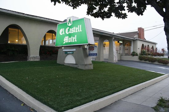 El Castell Motel: Hotel entrance