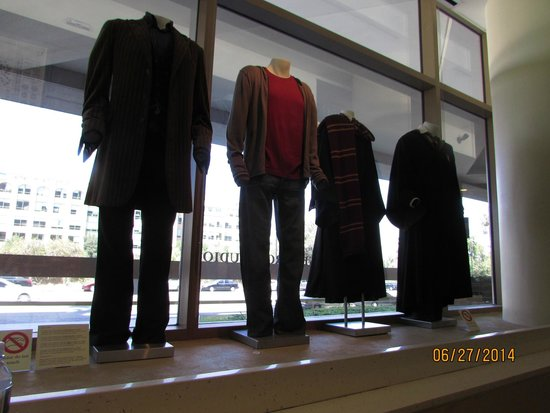 Warner Bros. Studio Tour Hollywood: HP costumes