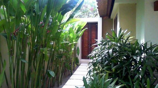 Qunci Villas Hotel : entrance to villa