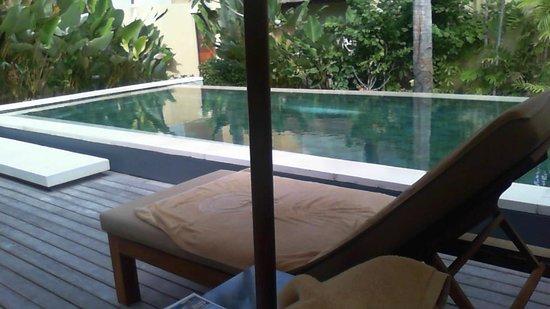 Qunci Villas Hotel : private pool