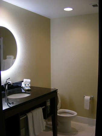 HYATT House San Jose/Silicon Valley: Mirror That Lights Up!