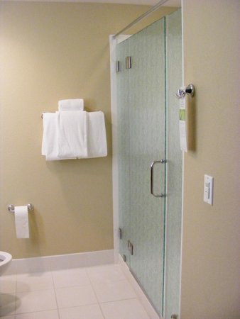HYATT House San Jose/Silicon Valley: Shower area