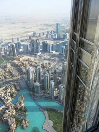 At.Mosphere Restaurant: Overlooking Dubai