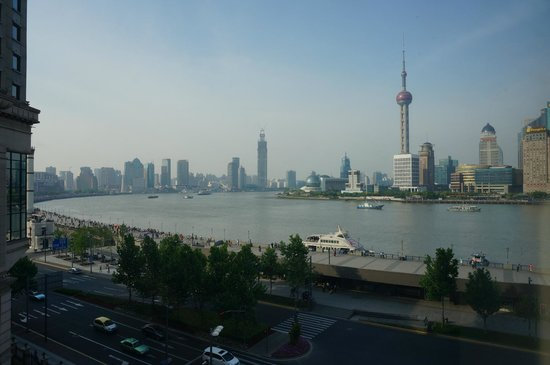 Les Suites Orient, Bund Shanghai: Great view
