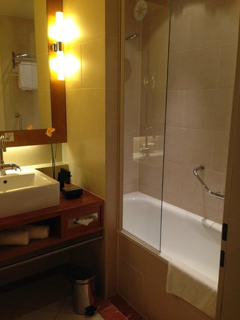 Meliá Berlin : Bathroom-clean but difficult shower controls