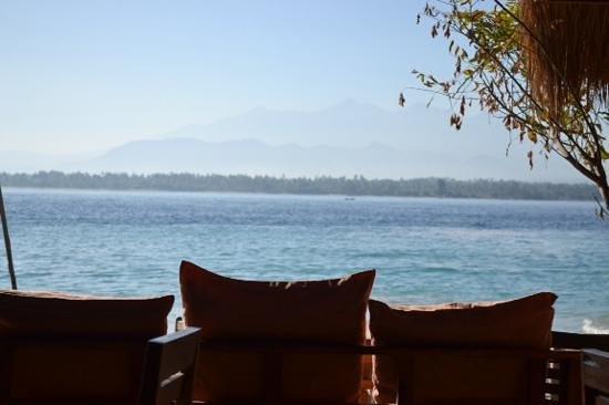 Chill Out Bungalows : great view of Lombok