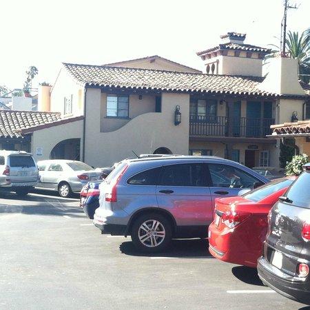 Castillo Inn at the Beach : vista desde el cuarto