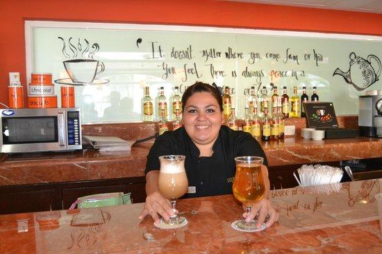 The Royal Playa del Carmen: Luisa hermosa y muy simpatica