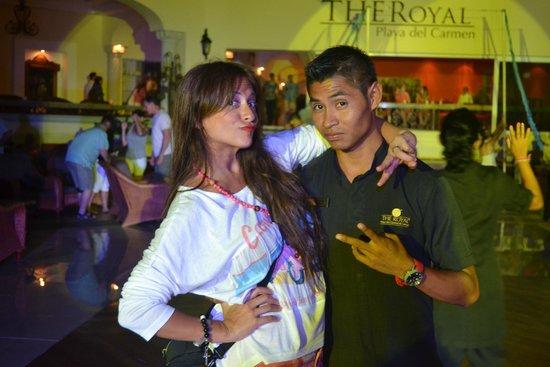 The Royal Playa del Carmen: divertidoooo